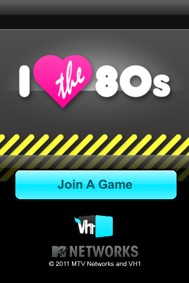 Screenshot VH1's I Love the 80s Trivia – Samsung Remote
